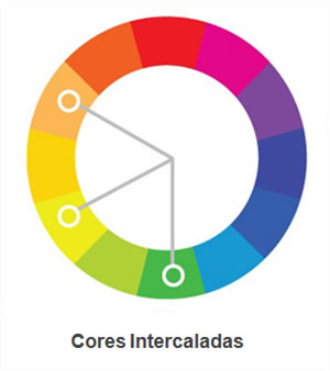 Cores Intercaladas